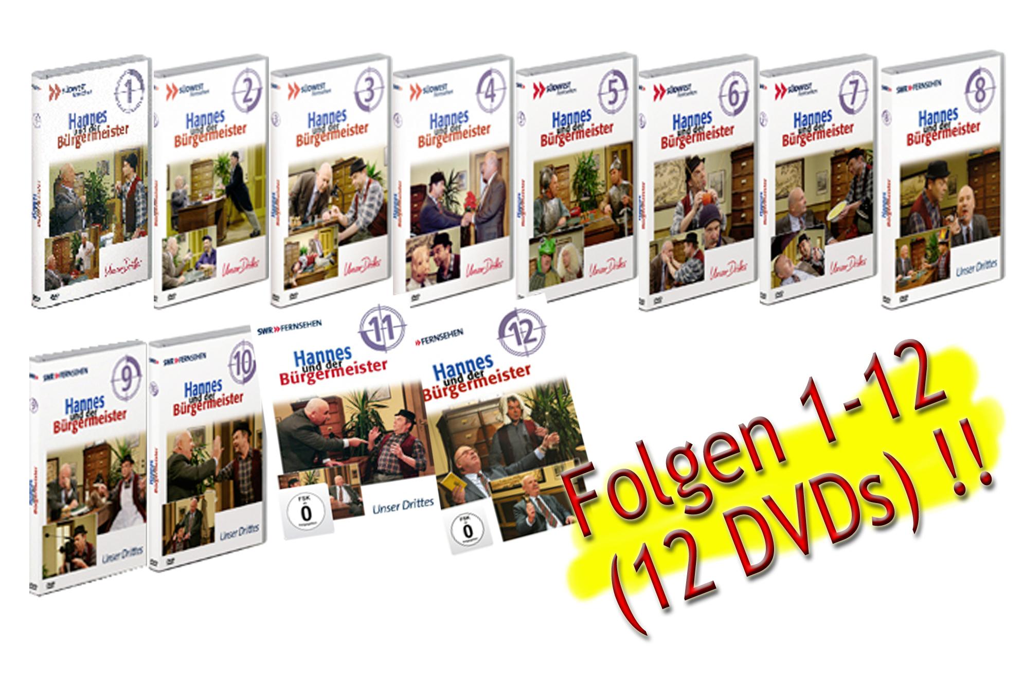Hannes und der Bürgermeister DVD 1-12
